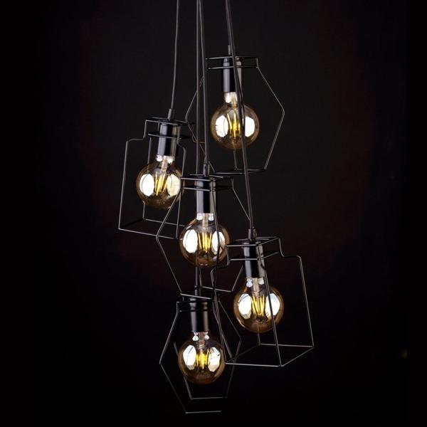 Lampa Vintage Fiord V Zwis Retro 9665