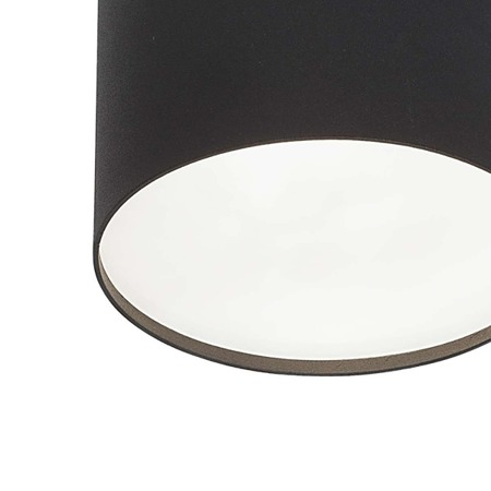Lampa sufitowa/spot POINT PLEXI BLACK L śr.13cm