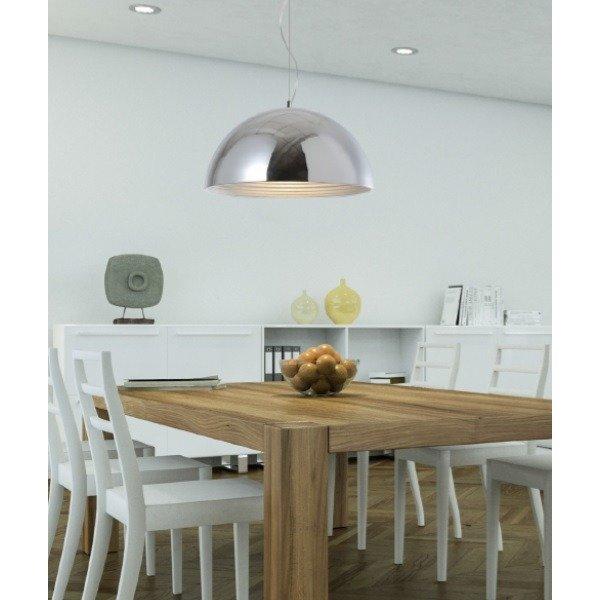 lampa wisz ca mads srebrna 30cm h ngelampen salon k che. Black Bedroom Furniture Sets. Home Design Ideas