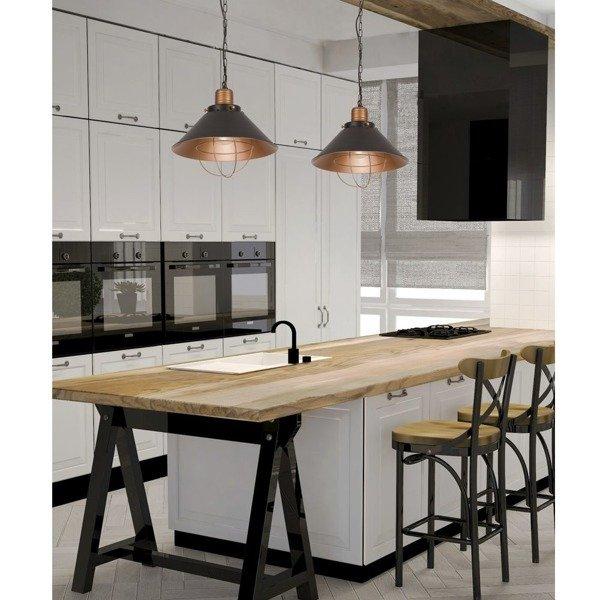 lampa wisz ca loft garret s h ngelampen salon b ro k che. Black Bedroom Furniture Sets. Home Design Ideas