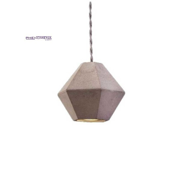 Betonowa lampa GEOMETRIC diament 130cm 9697