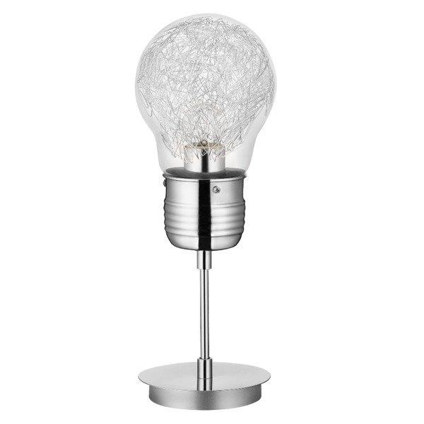 Lampa stołowa BULB żarówka druciki