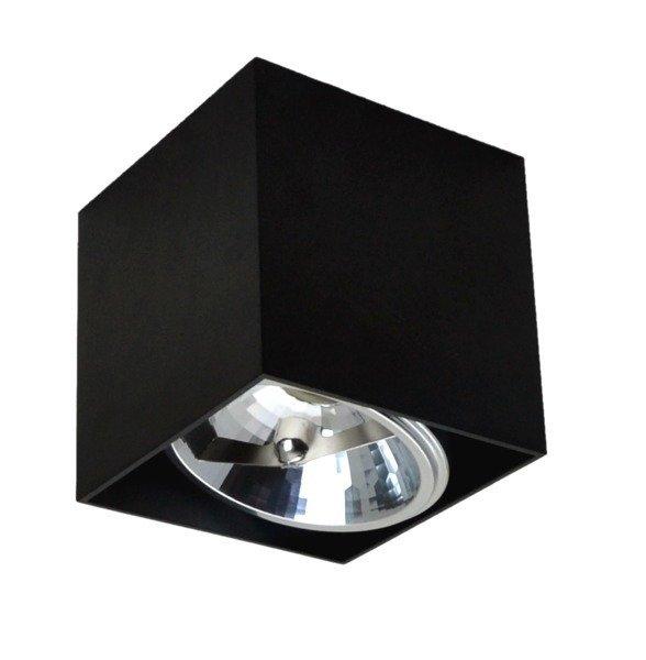 lampy led nadtynkowe czarne 12cm