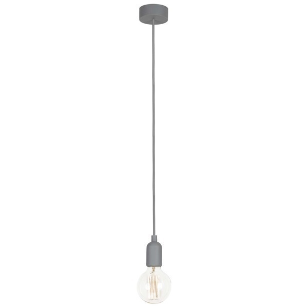 Lampa SILICONE GRAY 90cm szary kabel 6398